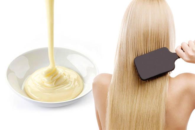 Маски для волос в домашних условиях майонезная 800