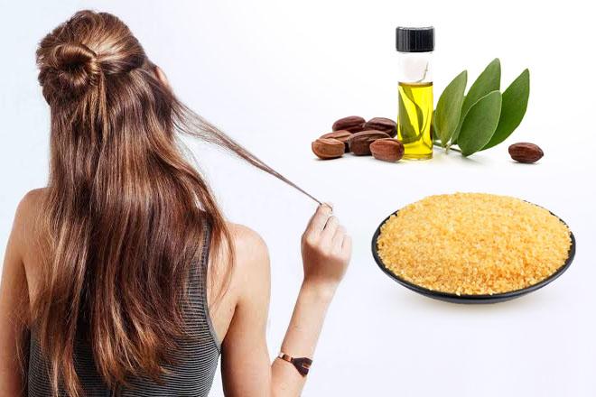 Маска для сухих кончиков волос с желатином в домашних условиях