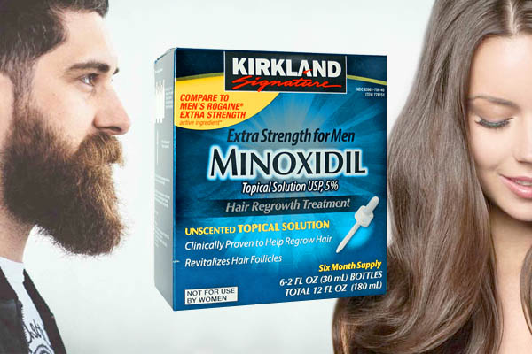 Minoxidil kirkland для бороды и волос