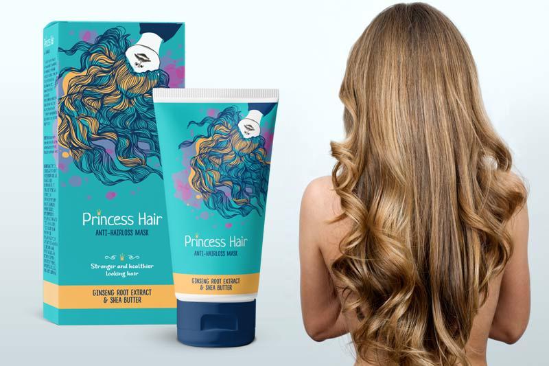Маска для роста волос Princess Hair