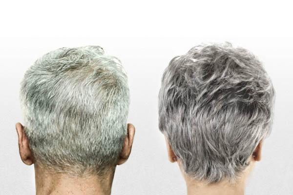 Маски против седых волос
