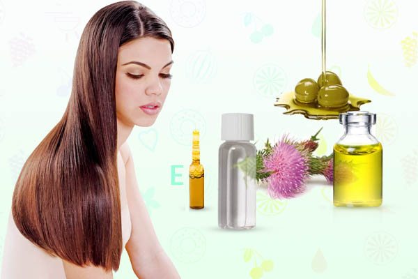Маска для ламинирования волос с глицерином и витамином Е