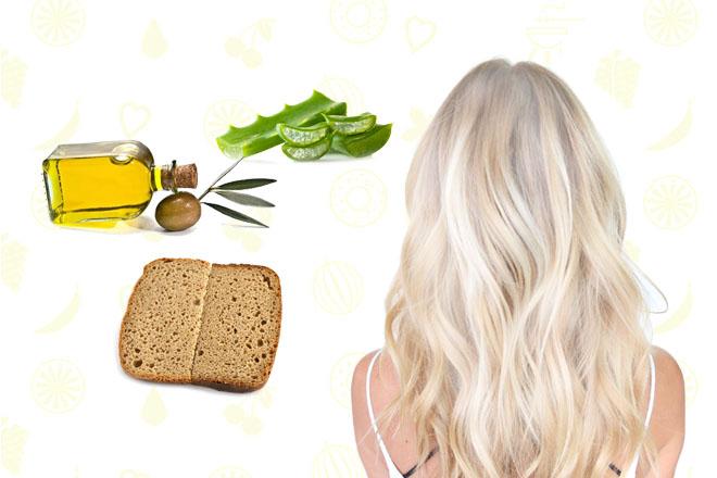 Восстановление обесцвеченных волос от сухости и ломкости