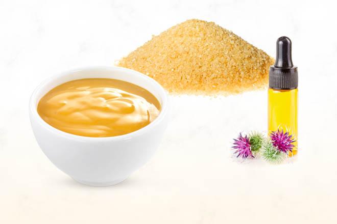 Горчица и желатин для роста и густоты волос