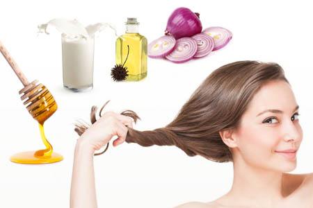 Маска из сока лука против выпадения волос