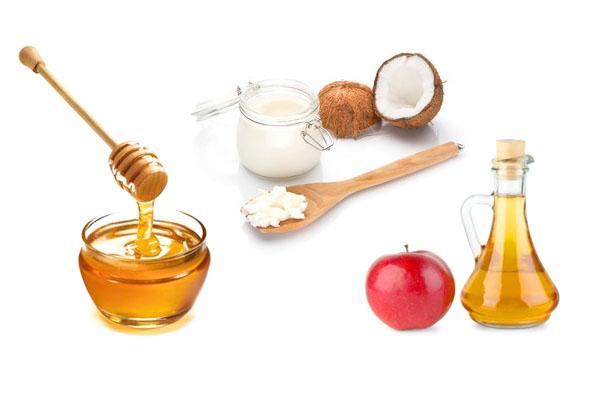 Маска с кокосовым маслом и мёдом для волос