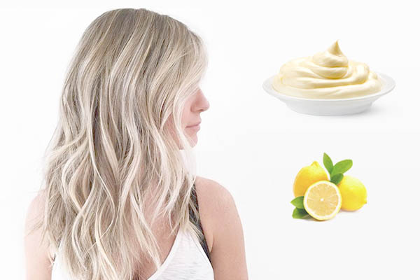 Рецепт для смывки краски с волос с майонезом