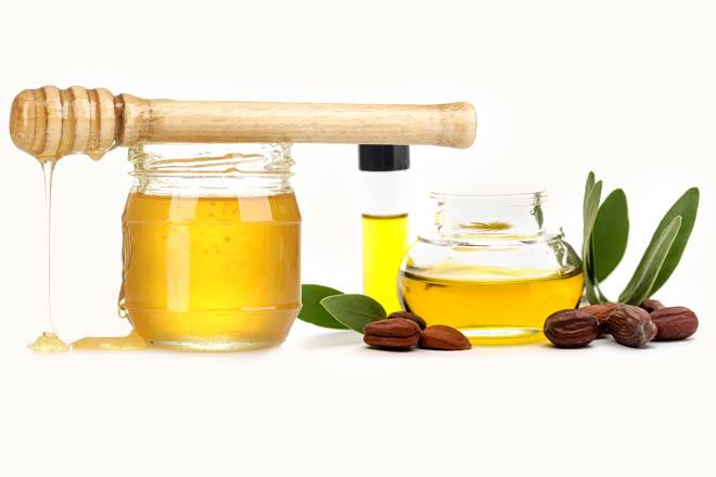 Мёд и масло жожоба для роста волос
