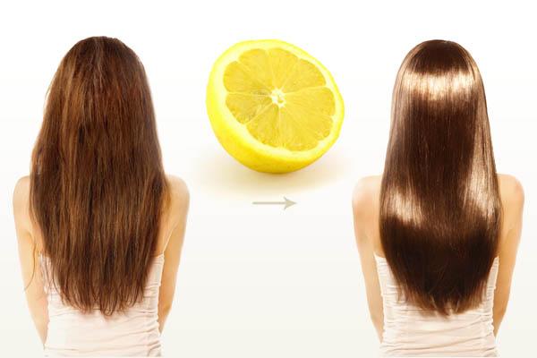 Маска от пышности и пушистости волос с лимоном