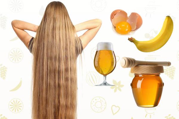 Маска для роста волос с мёдом и яйцом